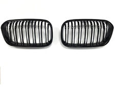 BMW F20 F21 1 Series Kidney Grill Grille Black 2014 ON NEW TWIN BAR STYLE LCI