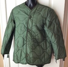 Green Field Jacket Parka Quilted Liner Sz Medium U.S. Military Army Surplus M-65