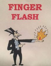 Pro Magic FINGER FLASHER Flash Paper/Cotton Fire Trick!