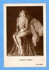 JOSEPHINE BAKER # 5068 SEMI NUDE VINTAGE PHOTO PC. PUBLISHER GERMANY 565