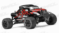 Mini MadBeast 1/18 Electric Monster Truck RTR RC Remote Control Black Red