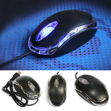 USB 3D Optical Wired Mouse For IBM Lenovo MAC PC Laptop Notebook Scroll Wheel