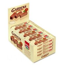 1 BOX OF 25 LOACKER GARDENA HAZELNUT MILK CHOCOLATE WAFERS - Kosher