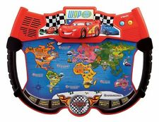 Disney Pixar Cars 2 VTech World Grand Prix Lightning McQueen Atlas Explorer NEW