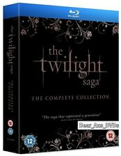 THE TWILIGHT SAGA (2008-2012) - 5 BLU-RAY Set - COMPLETE Movie Collection NEW UK