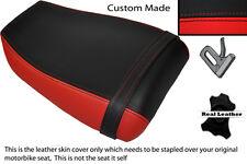 RED & BLACK CUSTOM FITS KAWASAKI NINJA ZXR 400 91-03 REAR SEAT COVER