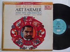 ART FARMER ~ AZTEC SUITE ~ UNITED ARTISTS dg VINYL LP ~ STEREO RARE zoot sims
