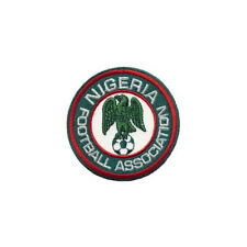 NIGERIA FOOTBALL ASSOC.. FIFA CUP IRON-ON PATCH CREST BADGE 3 INCH IN DIAMETER