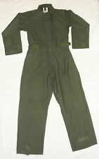 Lajas Industries Men's Coveralls Type 1 Cotton/Sateen Green Size Small BRAND NEW