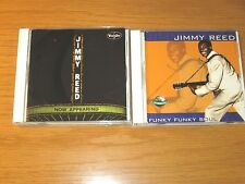 "LOT OF 2 USED/VERY GOOD BLUES CDs - JIMMY REED ""NOW APPEARING/FUNKY FUNKY SOUL"""