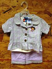 Nick Jr  / Dora The Explorer - 3 piece Dress Suit Girls Size 3T