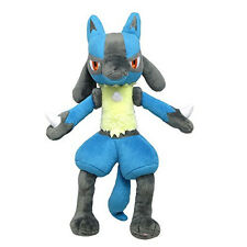 "Sanei Pokemon Series (PP12) Lucario 12"" Pokemon Go All Star Collection Plush"