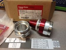 """Crouse-Hinds 1"""" Terminator Cable Fitting TMCX100-1L Gland for LSC HUB NPT HazLoc"""
