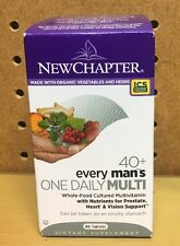 NEW CHAPTER Every Man's One Daily 40+ Multi, Prostate Health 48 Tabs SALE!!!