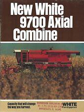 Farm Combine Brochure - White - 9700 Axial - 8 page version (F4866)