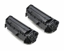 2 PK NON-OEM CARTRIDGE FOR HP Q2612A LASERJET 1010 1012 1015 12A 1018 1020 3030