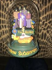 The Beatles Yellow Submarine Music Box w/ Glass Dome-Franklin Mint (Numbered)