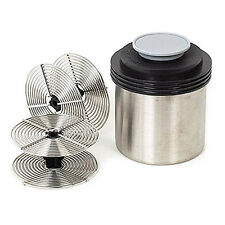 Stainless Steel Daylight Film Developing Tank w/2 Reel for 2 Rolls of 35mm 135 i