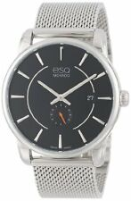ESQ Movado Men's Watch 07301444 Capital Stainless Steel Bracelet Black Dial