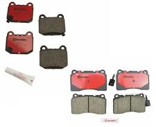Genuine Brembo Brake Pads Set (Front & Rear) 04-07 Subaru WRX STi