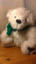 "Handmade Long Haired White Bear 14"" Artist Ooak Minty By J-Zee Bears 1"