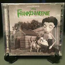 Frankenweenie Soundtrack - 2012 CD - Disney Movie - Bonus Tracks