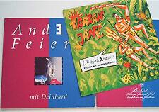 Anders Feiern mit Deinhard Party Broschüre mit Tarzan und Jane 40 Seiten