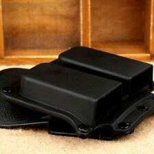 Tactical 4500 Wide Belt Paddle Double Magazine Holster Pouch for 1911 Model Type