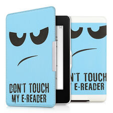 Kwmobile funda con lengüeta para Amazon Kindle Paperwhite Don 't Touch My piel sintética