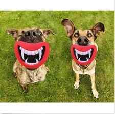 Drôle Jouet Mâcher Sonore Motif Dents Pr Chien Chat Jouer Halloween Déguisement