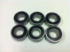 """Belt grinder wheel bearings for 2x72"""" knife grinders Set of 6 bearings 1616"""