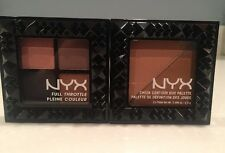 NYX Contour Duo TWO TO TANGO Palette & TAKE OVER CONTROL Eyeshadow Palette NEW!