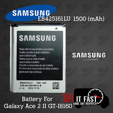100% Genuine Samsung Battery For Galaxy Ace 2 II GT-I8160 EB-425161LU 1500 mAh