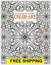 Coloring Books For Adults Beautiful Art Relaxation Anti Stress Therapy Fun New