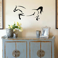 Wall Sticker Horse Wall Decal Running Horse Animal Decal Living Room Decal House