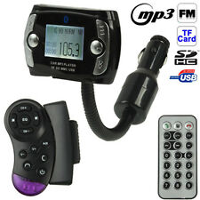 KIT TRASMETTITORE FM VIVAVOCE BLUETOOTH DISPLAY USB SD MP3 AUTO COMANDO VOLANTE