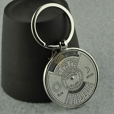 Valentine's Day Gifts for Lover Keychain Forever 50 Years Calendar Cute Keyring