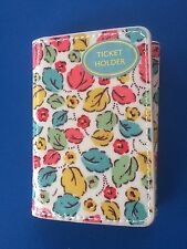 ORIGINAL CATH KIDSTON TICKET/CARD HOLDER LITTLE LEAVES - NEW