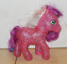 2006 My Little Pony G3 Flower Garland Divine Shine Pink Sparkles Rare HTF