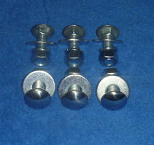 1950 - 1977 Ford Bumper Bolt Kit - 6 Pack - New - Polished
