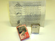 IMCO (JULIUS FRANZ MEISTER) SOLO DELUXE LIGHTER - SQUEEZE LIGHTER - 1936 - U.S.A