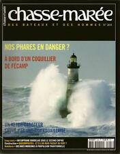 CHASSE MAREE N° 203 : PHARES - COQUILLER DE FECAMP - KETCH CABOTEUR - N. ALFORD