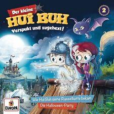 DER KLEINE HUI BUH - 002: HUI BUH UND SEINE RASSELKETTE/HALLOWEEN-PARTY CD NEU