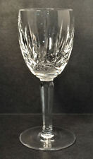 "Waterford Crystal KILDARE 6oz Claret Wine Goblet Stem 6 1/2"" High Plain Base"