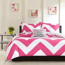 Bedding Sets Full for Teens Comforter Kids Girls Queen Adults Cute Pink White