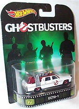 Ghostbusters Ecto-1 Retro 1-64 scale new in packet Hot wheels DWJ72
