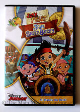 Disney Jake and The Neverland Pirates Jake Saves Bucky DVD Full Adventure +Bonus