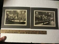 KROGER STORE EARLY CABINET PHOTOGRAPHS  (2)  ADVERTISING SLOGANS  STORE SIGNS