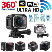 Panoramic 360° Ultra HD 4K 1440P Waterproof Action Sports Camera DV Camcorder
