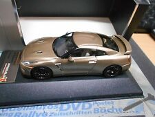 NISSAN GT-R Skyline GT R 2014 Coupe gold met Black Edition PremiumX IXO 1:43